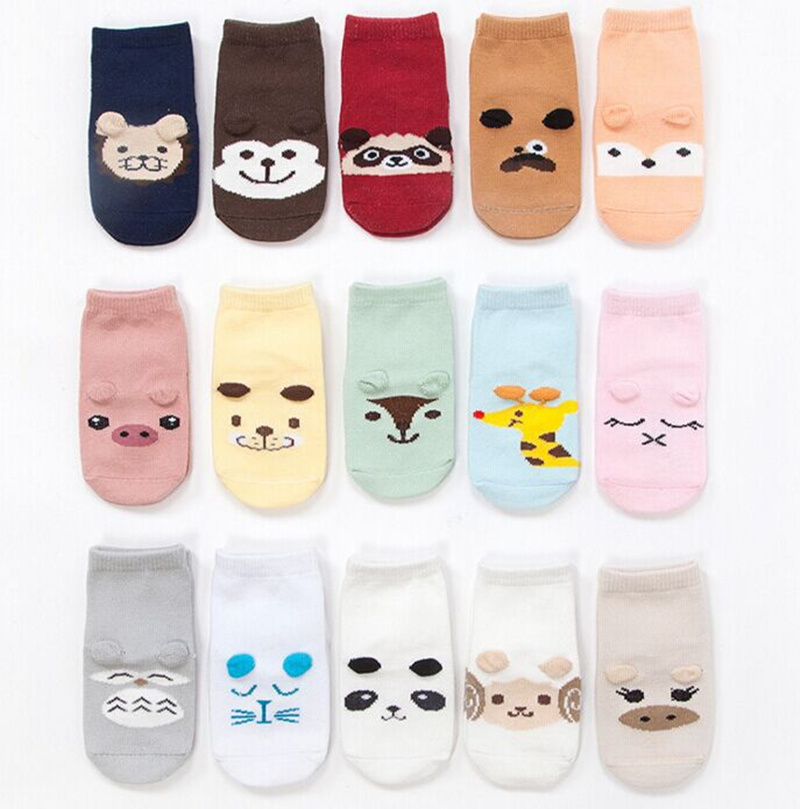 14 Colors font b Baby b font Socks 2016 New Spring and Autumn Cotton Cartoon Children