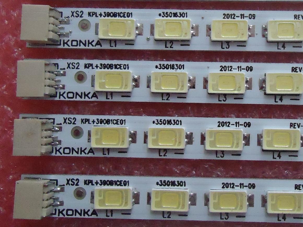 FOR konka LED40F2200NE  Article lamp 37020253 QZ 35016301 35016524 KPL+390B1CE01 screen V390HJ1-P02 1piece=52LED 434MM ман 40 390 бу продам