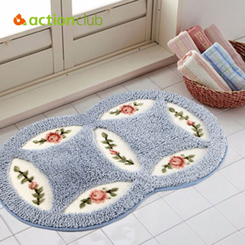 Bathroom Rugs Round: Suede Round Area Rugs Outdoor Mats Bathroom Home Area Rugs