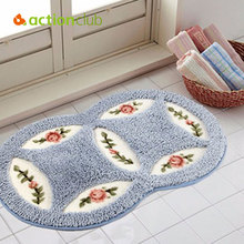 Suede Round Area Rugs Outdoor Mats Bathroom Home Area Rugs Water Bath Accent Rugs Mats Anti Slip Maps Indoors Outdoors Rugs