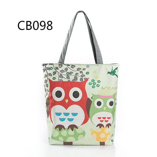 Floral Owl Printed Women's...