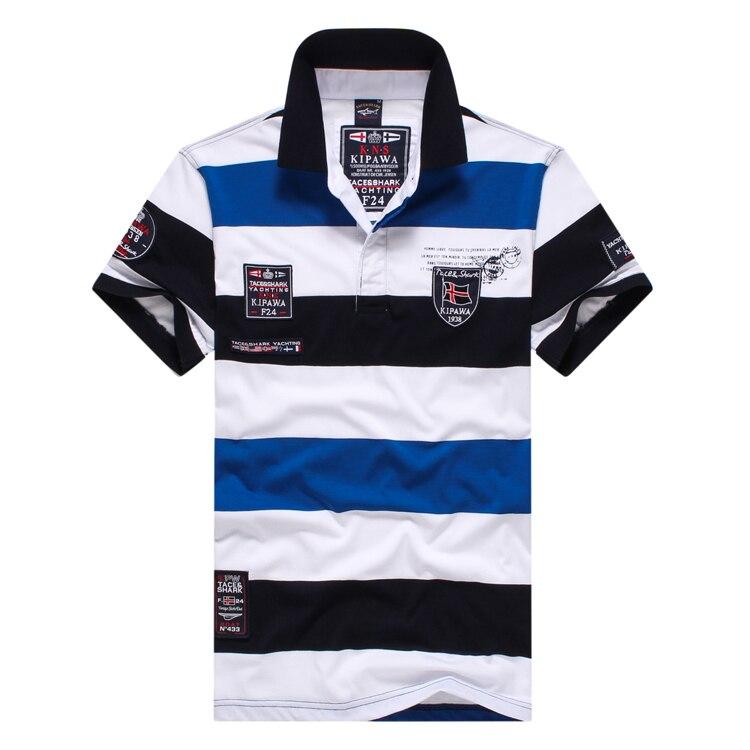 Polo shirt man Brand clothing Tace&shark Рубашка