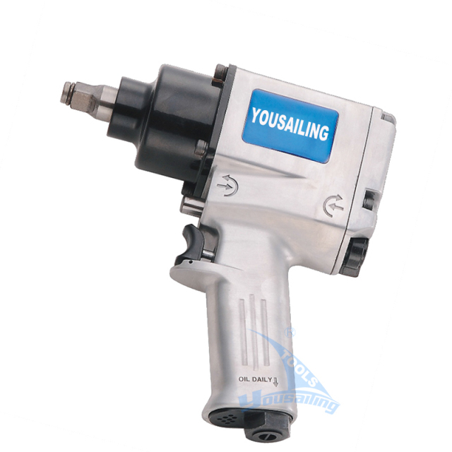 High Quality 78kg Torque Industrial 1/2 Inch Pneumatic Wrench Air Impact Wrench with TWIN HAMMER / HANDLE EXHAUST