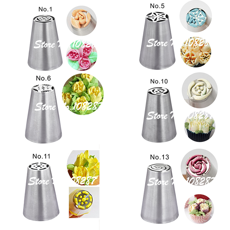 Aliexpress.com : Buy Russian Piping Tips Nozzles Pastry ...