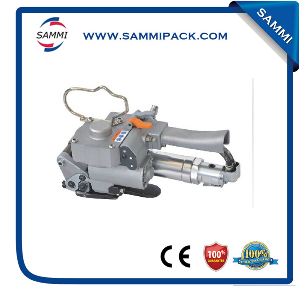 A19 Factory direct sale carton box pneumatic strapping machine