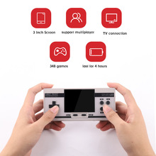 Retro Handheld Game Console 3.0 inch Screen Mini Video game console Built-in 348 Classic Games Support 2 Players TV Video Output