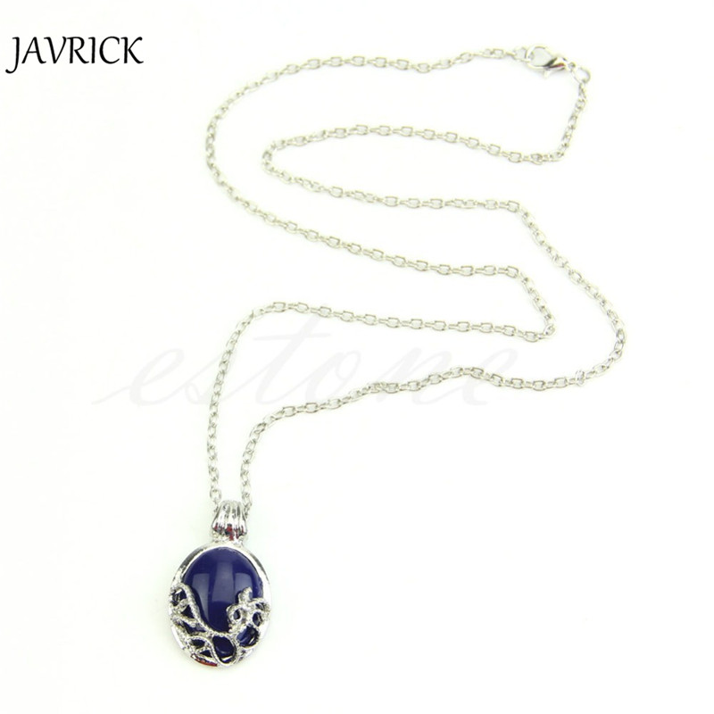 JAVRICK New Hot Vintage The Vampire Diaries Katherine Anti-sunlight Pendant Necklace Chain ZB380