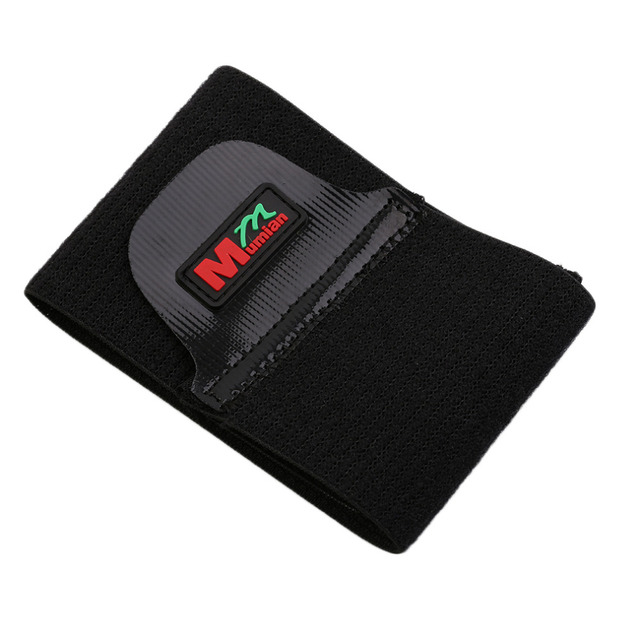 Silicone Mumian C03 30*7.5cm Non Slipping Pressure Massage Adjustable Sport Wrist Guard Protecting Black Man Woman Wrist Brace