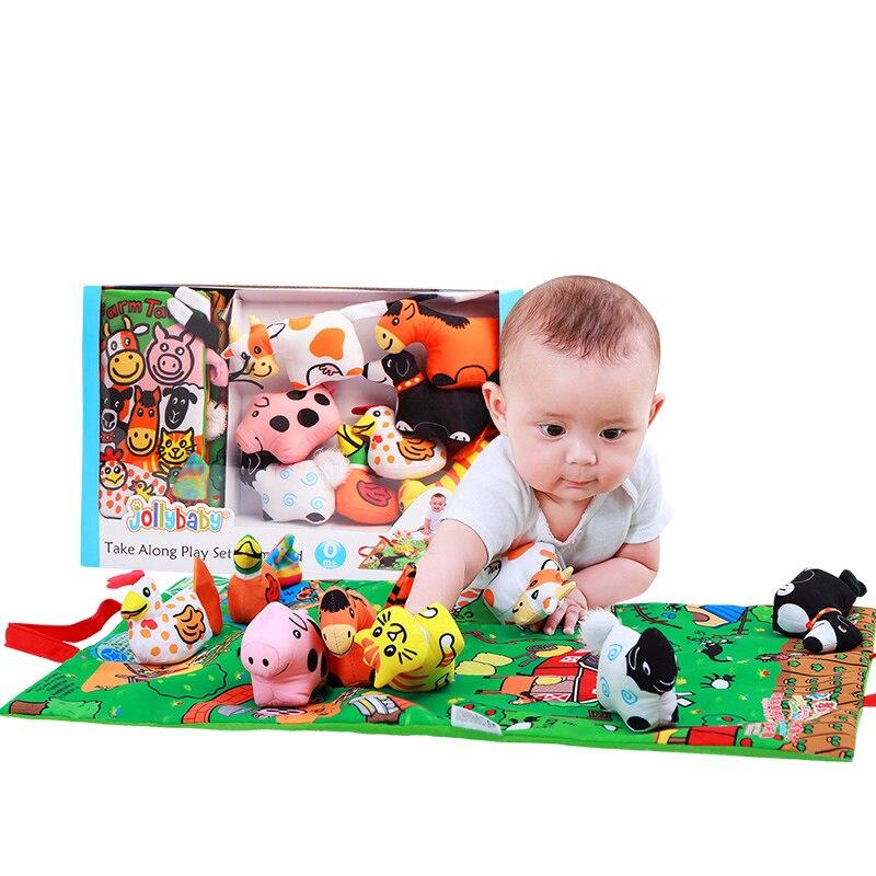 Vente chaude nouveaux enfants 0-3 ans bébé tissu livres Tereo lecture début enseignement Puzzle jouets 6-12 mois secouant