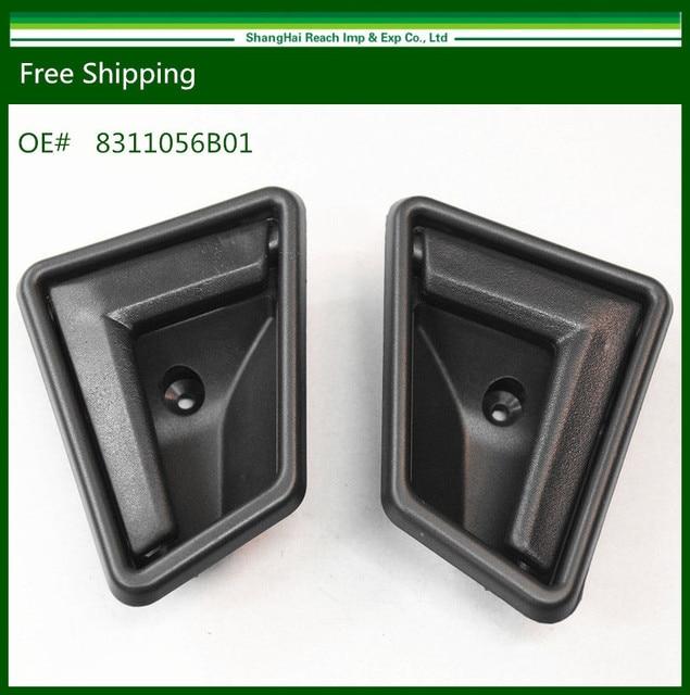 New Interior Door Handle for Suzuki Sidekick Black Front Right & Left 1989-1998  83110-56B01 / 83130-56B01