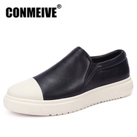 Real Luxury Brand Shoes Men Breathable Fashion Style Leather Casual Mens Light Flat Men S Spring
