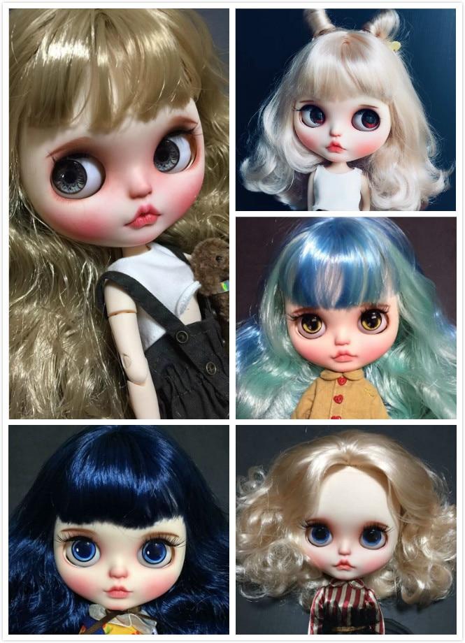 Blyth chica muñeca personalizada cara NO.QAQ0306 1-in Muñecas from Juguetes y pasatiempos    1