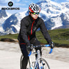 ROCKBROS Winter Fleece Cycling Jacket Sets Men S Bike Bicycle Thermal Jacket Jersey Ropa Ciclismo Cycling
