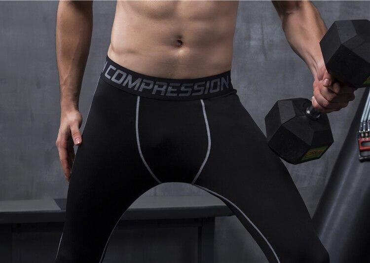 Men's Compression Bodybuilding Pants