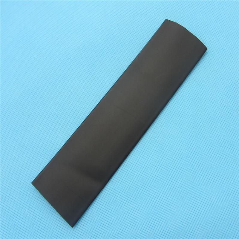 1m Tubo termorretráctil 25mm Tubo negro termorretráctil Diámetro Interno envoltura de Cable Kit de Cable