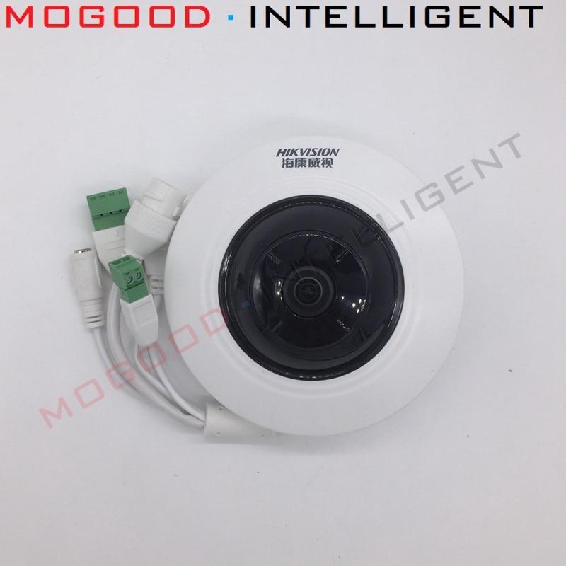 HIKVISION DS 2CD3955FWD IWS IP Camera 5MP Fisheye Camera Replace DS 2CD3942F I Support EZVIZ Hik