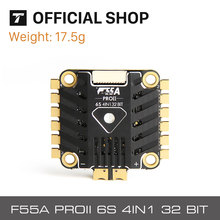 T-MOTOR F55A PRO II 4IN1 32bits ESC with LED for DIY racing Drone Traversing FPV RC 5V@ 2A