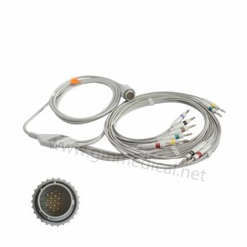 10 odprowadzeń EKG kabel kompatybilny z KANZ pc-103 104 106 Cardioline współczynnik Delta równy 1 plus 3 plus 60 plus IEC DDK-16PIN Banana 4 0 tanie i dobre opinie 1pc bag Ciśnienie krwi EC006BI Guangdong China (Mainland) Medical Materials Accessories Surgical Supplies CE ISO13485
