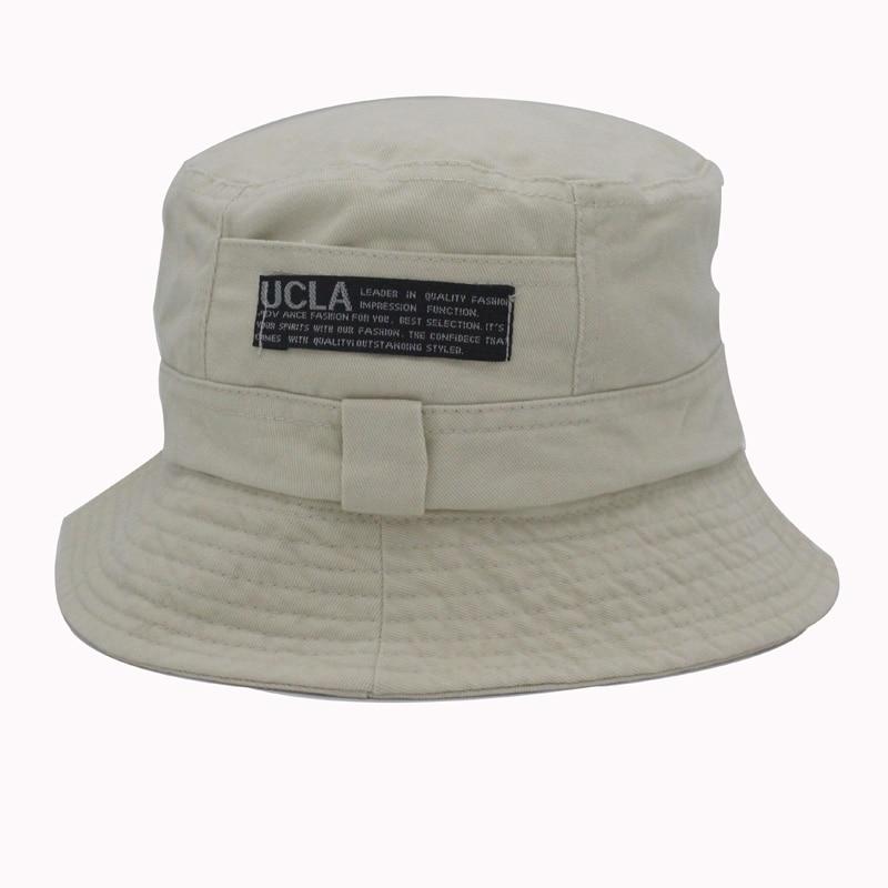 2016 Moda Cottonblend traper Unisex kapa vedro šešir ljeto otvoreni - Pribor za odjeću - Foto 6