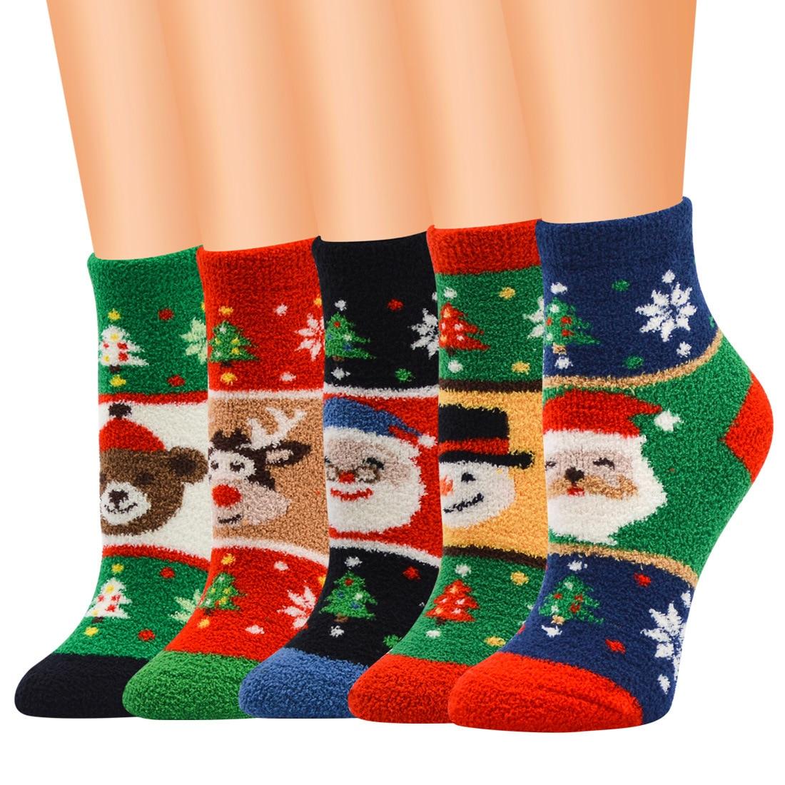 Ladies Thermal Socks Multi Pattern Design 4-7 Womens Winter Extra Warmth 3 Pairs