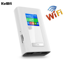 USA/CA/Mexico Area Car Wireless Modem 4G LTE Router 5200Mah Power Bank Portable Travel Route With Two SIM Card Slot RJ45 Port