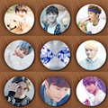 Youpop KPOP Korean SEVENTEEN 17 Member Love Letter Album 58mm Metal Round Badge Pins And Brooches For Clothes Hat Backpack