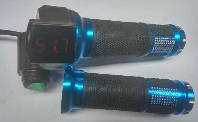 Поворотная дроссельная заслонка 12-100 в для электрического велосипеда, Педальный скутер mtb трехколесный велосипед с цифровым дисплеем и круизным переключателем, индикатор напряжения батареи