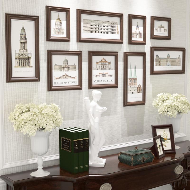 Vintage Picture Frames Set,Frames For Home Decoration,Mural Wall ...