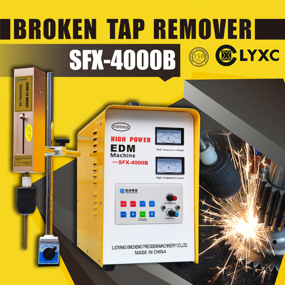 Broken Drill And Broken Tap Removal Portable Electrical Discharge Machine