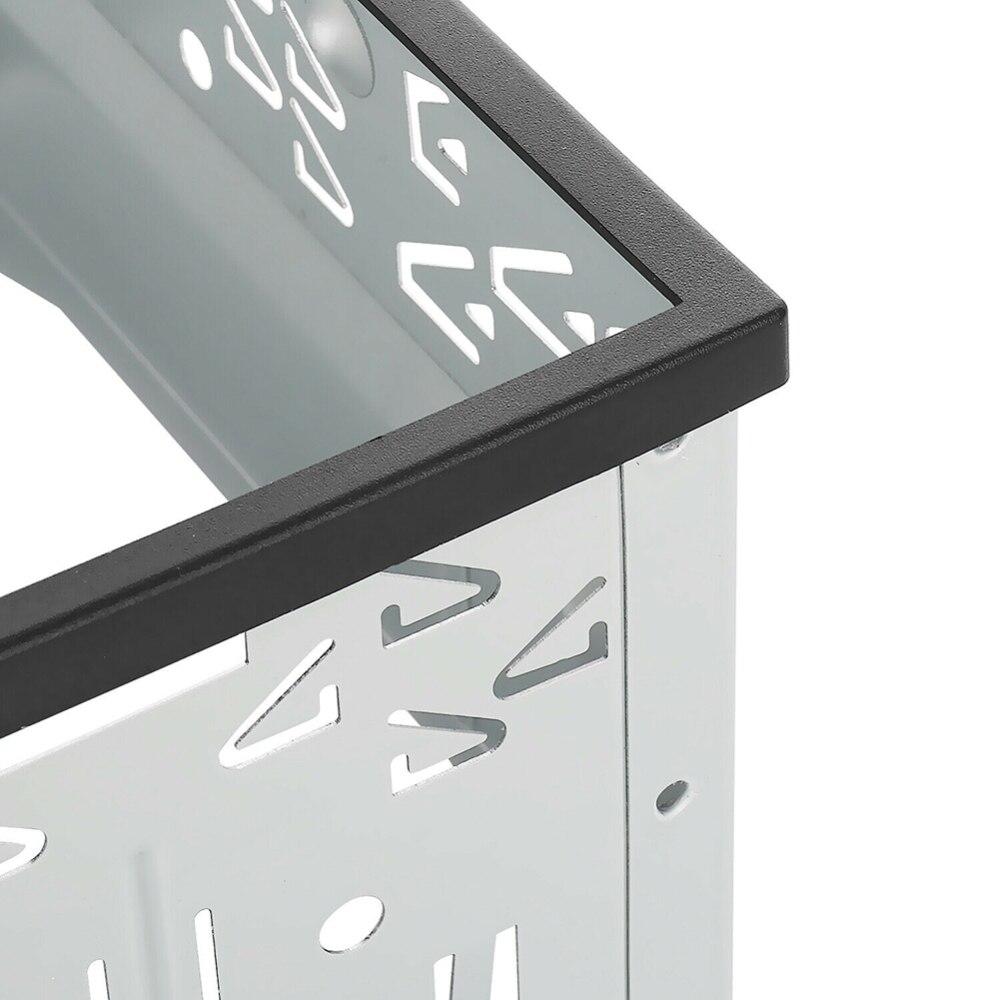 DJSona DVD Монтажная Рамка комплект Din двойной ISO Din металлическая рамка вставки слот радио панель монтажная рамка радио высокое качество