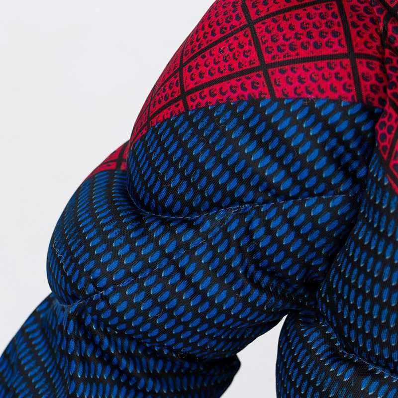 Распродажа для мальчиков Удивительный Человек-паук  характер фильма Классиче-ский Мышцы Marvel Фэнтези супергероя на Хэллоуин карнавальный Детский костюм  для вечеринок