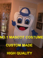 Healthy Tooth Mascot Costume Adult Teeth Theme Happy Tooth Anime Cosply Costumes Advertising Mascotte fancy Dress Suit Kits 1701