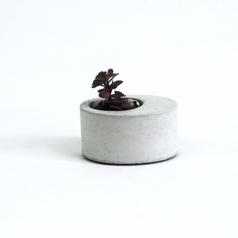 silikonski kalupi ovalni betonski plijesan cvijet multi - meso cementa 3d posude potting succulents biljke biljka kalup 3d vaza kalup