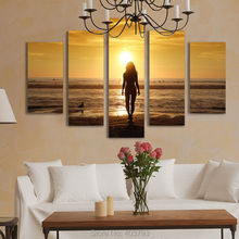 HUGE MODERN ABSTRACT WALL DECOR ART OIL PAINTING ON CANVAS UNFRAMED HOME DECORATION 5PCS/LOT