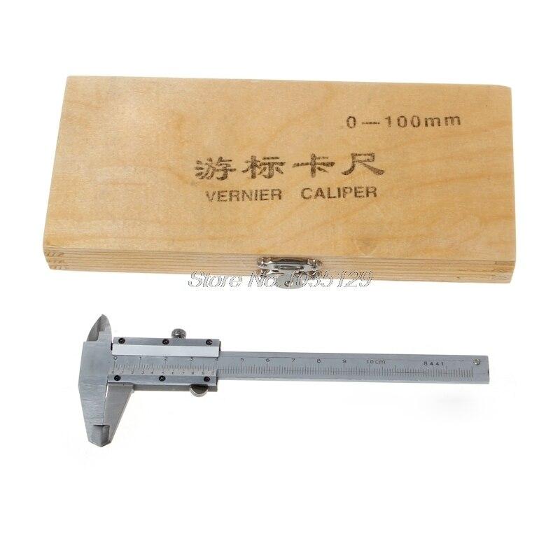 0-100mm 4inch vernier caliper 100mm pocket mini caliper micometer thickness measure tool Whosale&DropShip