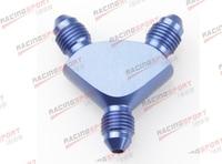 AN12 AN 12 AN 12 12 AN Y Block Adapter Fittings adaptor AD65012 BLUE