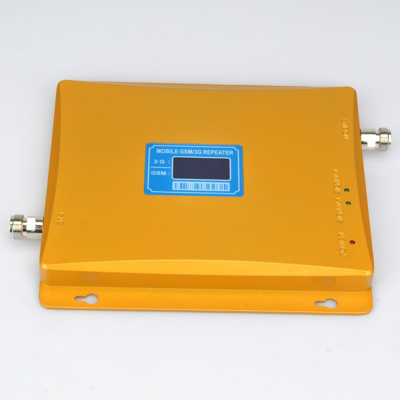 Best price ! Newest Dual Band 2G 3G LCD Display Signal booster ! GSM 900 GSM 2100 Mobile Phone Booster Amplifier 3G GSM RepeaterBest price ! Newest Dual Band 2G 3G LCD Display Signal booster ! GSM 900 GSM 2100 Mobile Phone Booster Amplifier 3G GSM Repeater