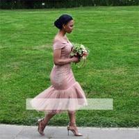 2018 Cheap Bridesmaid Dresses Under 50 Mermaid Off The Shoulder Appliques Long Wedding Party Dresses For Women