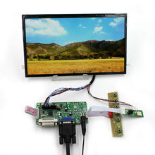 DVI VGA LCD Controller Board  10.1inch B101XAN01.2 1366x768 AHVA LCD Screen dvi vga lcd controller board 5 zj050na 08c replace at050tn22 640x480 lcd screen