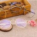 La más nueva Venta Caliente Retro Estilo de la Superestrella de Aleación De Gafas de Marco Hombres Mujeres Oculos Montura de Gafas Anteojos Ópticos Gafas de Equipo