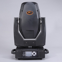 China aliexpress high quality 350W 17R 3 in 1 beam moving head wash spot dmx light studio lighting 2pcs gobo wheel power con