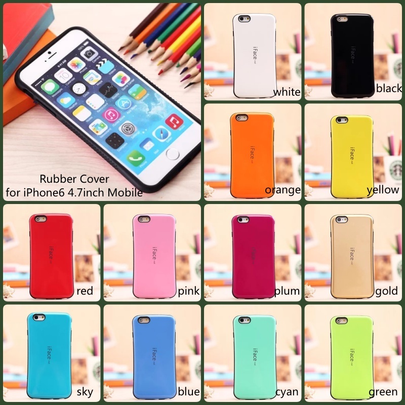 Rubber Cover for Apple Mobile suitable for iPhone6 iPhone6s