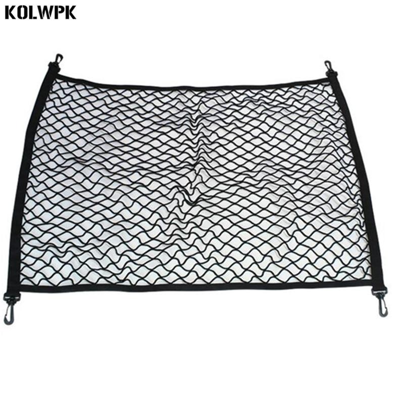4 HooK Car Trunk Cargo Mesh Net Luggage For Audi A4 B6 A3