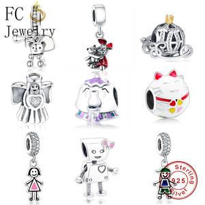 3b86349b6 FC Jewelry Fit Original Pandora Charm Bracelet DIY Berloque