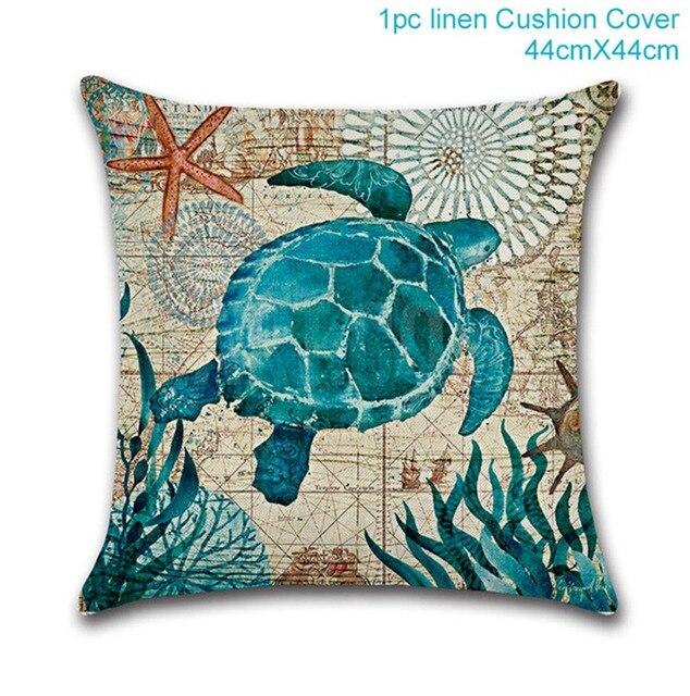 Marine pillowcase Mermaid party plates 5c64f5cb2fb11