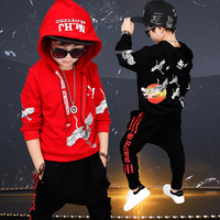 2017 Fall New Hip Hop Costume Children S Clothing Set Outfit Boys Long Sleeve Sports Suit