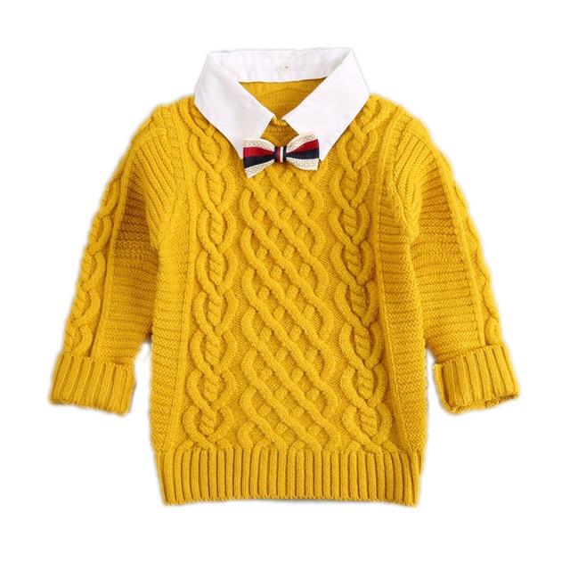 14905397fe12 Girls Sweaters Kids Winter Sweater Kids Fashion Thick Knitted ...