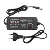 9-24 в 372 Вт AC/DC адаптер импульсный источник питания регулируемый адаптер питания дисплей ЕС вилка высокого качества