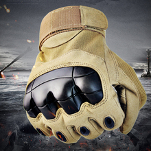 Mens Military Touch Screen Tactical Full Finger Gloves Hard Knuckle For Shooting Airsoft Motorcycle Outdoor
