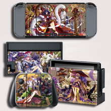 TouHou Project Skin Sticker per Nintendo Switch NS Skin Sticker per Console NS e Controller Protector Cover Decal Vinyl